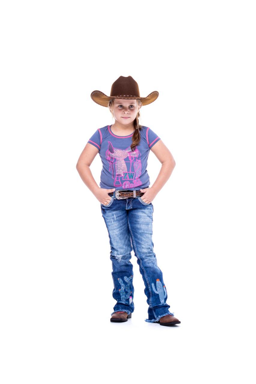 T-Shirt Zenz Western Kids Neon