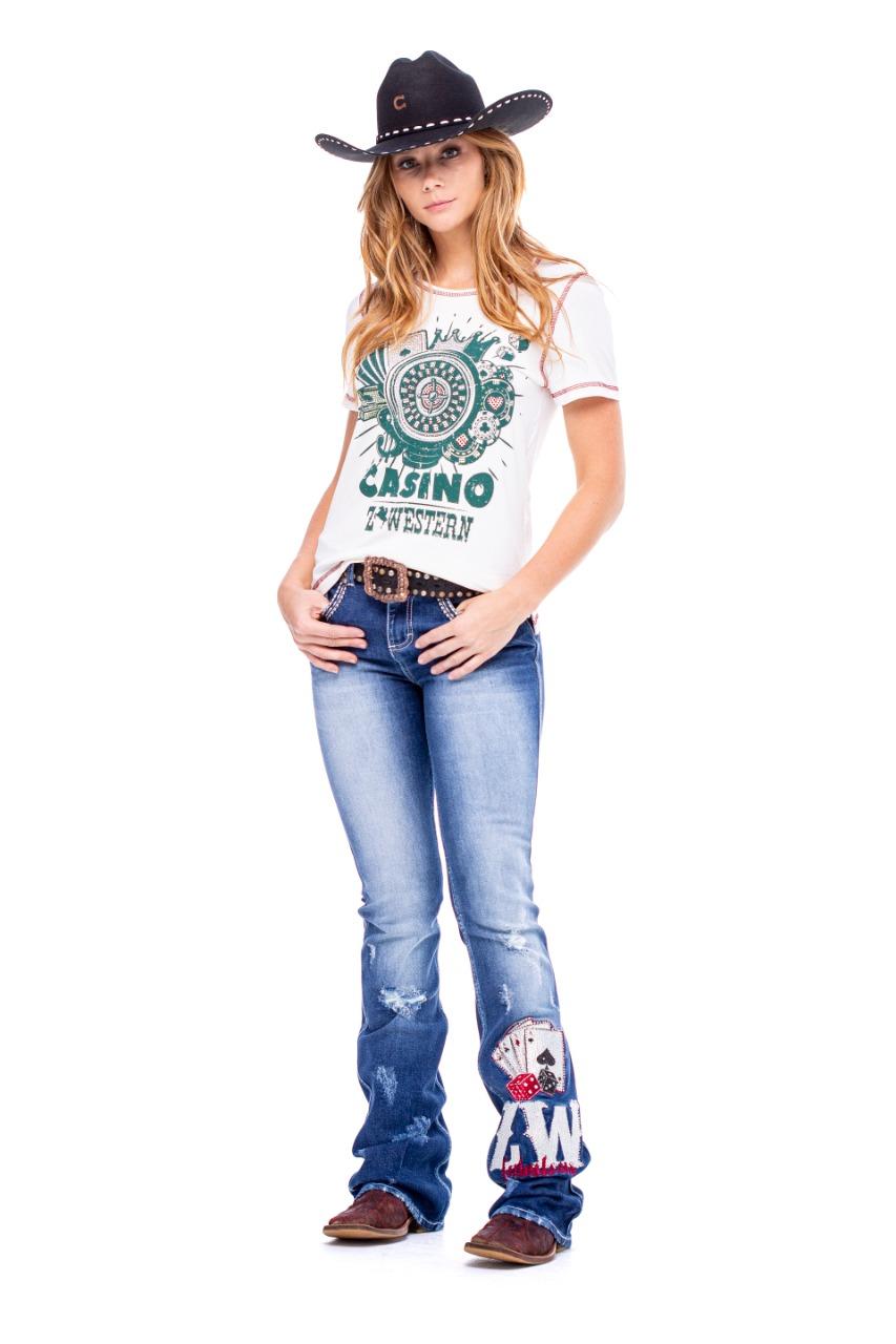 T-Shirt Zenz Western Poker