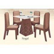Conjunto de Mesa com 4 cadeiras Liz - Astra