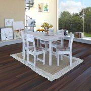 Conjunto de Mesa e 6 Cadeiras Dallas - Indekes