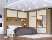 Dormitório Casal  Firenze 100% MDF - Europa Móveis