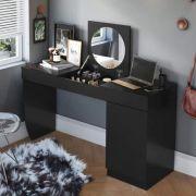Escrivaninha Penteadeira com Espelho Cristal - Belaflex