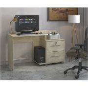 Escrivaninha Home Office Atlanta Plus com 2 Gavetas - Mira Rack