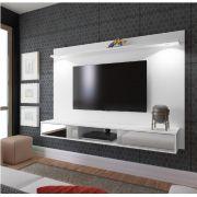 Painel Platinum para TV até 47 Polegadas 2 Portas com Espelho e LED - Artely