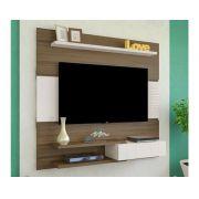Painel  Monza para TV até 50 Polegadas 1 Porta e Prateleiras - Artely