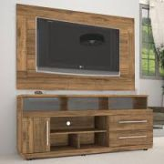 Rack Torino e Painel Gêneses Plus  Para Tv até 46
