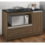 Balcão De Cozinha 1 Porta 1 Gaveta Nt 3050