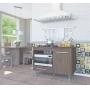 Balcão De Cozinha Para Cooktop - Indekes