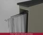 Balcão Porta Toalha Modulado 20cm com Tampo Connect Henn