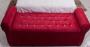 Baú Recamier com Braços Estofado em Tecido Suede  – Conforto Total