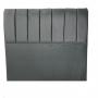 Cabeceira Estofada Quatro Medidas cor Cinza Pérola - Conforto
