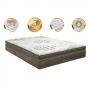 Cama Box Colchão Quenn Ortobom Gold Ultragel Com Base no Corino 158x198 - Ortobom