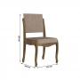 Conjunto de Mesa de Jantar 4 Cadeiras Onix - Rv Moveis