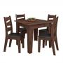 Conjunto de Mesa de jantar Isis 0,90 Com 4 Cadeiras - Celta