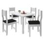 Conjunto de Mesa com 4 Cadeiras New Dallas - Indekes