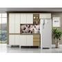 Cozinha Compacta 4 Peças com Balcao de 54cm Sophia - Aramóveis