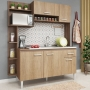 Cozinha Compacta Sofia Teka/Carvalho - Fellicci