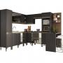 Cozinha Modulada Atena 100%MDF 12 Peças - Arte Cas