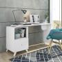 Escrivaninha com Tampo Giratório Branco Carinho - Albatroz Móveis