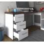 Mesa Para Escritório Escrivaninha Home Office Mali - Artany