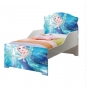 Mini cama infantil Temática Frozen - VJ Móveis Azul