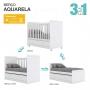 Quarto Infantil Completo 3 peças Aquarela - Henn