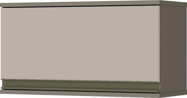 Armário Aéreo de Cozinha Modulada 1 Porta Basculante 60cm Connect Henn