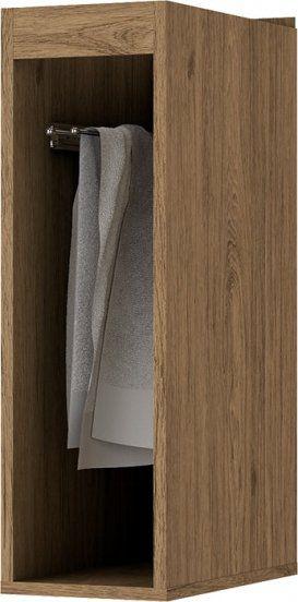 Balcão Porta Toalha Modulado 20cm Integra Rústico - Henn