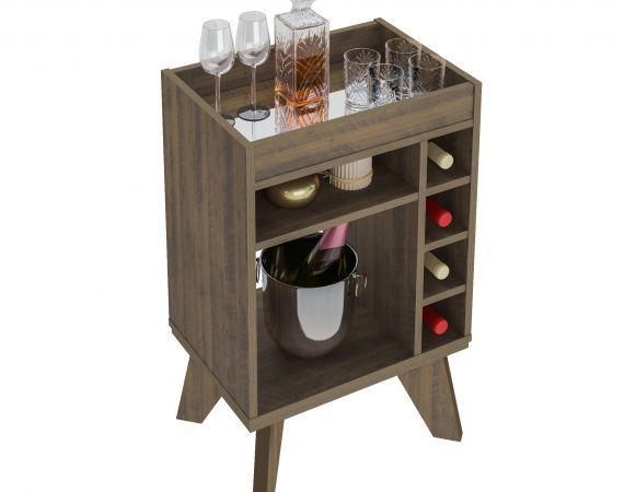 Bar Drink com Nichos Garrafeiros - Artely
