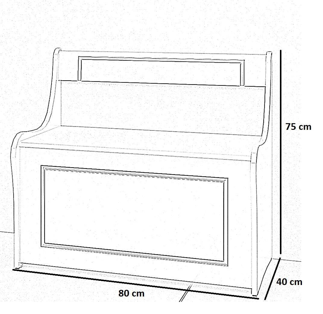 Caixa de Lenha com Baú - Darmovel