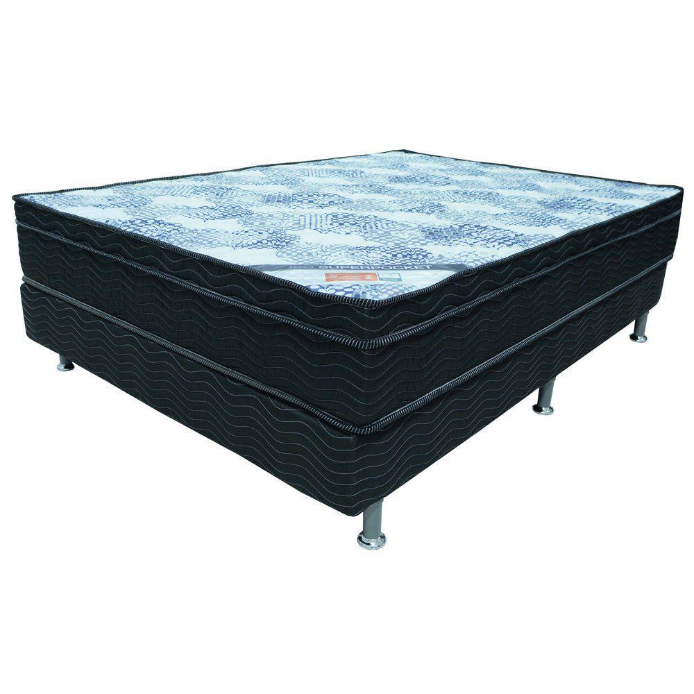Cama Box Casal 1,38m Superpocket Molas Ensacadas - Ortobom
