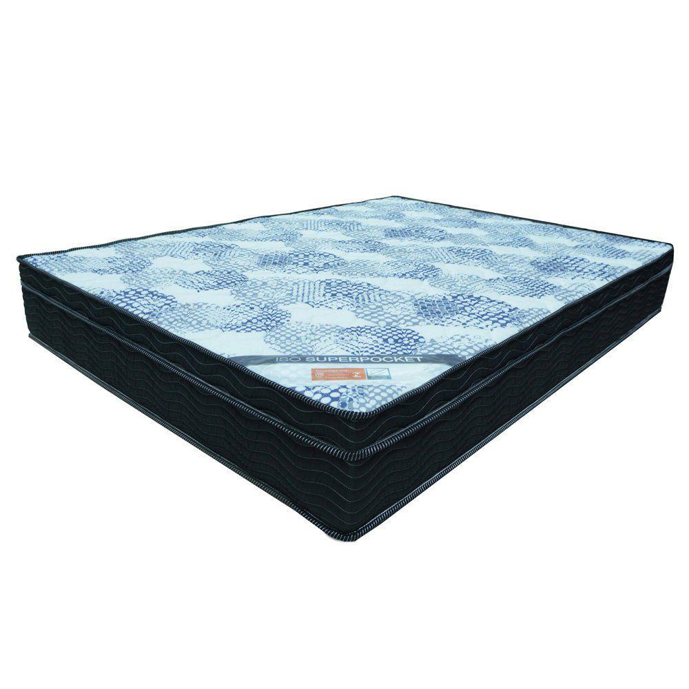 Cama Box Casal Queen Size 1,58m Superpocket Molas Ensacadas - Ortobom