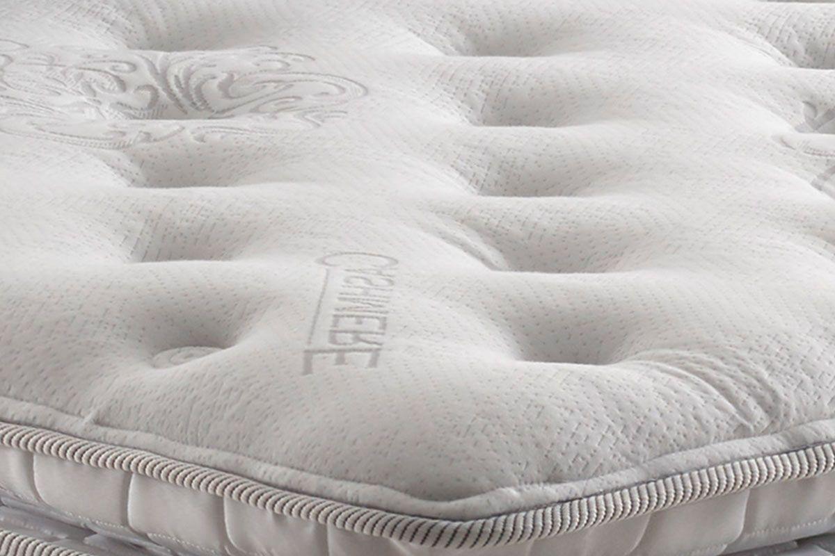 Cama Box Casal Confortable King Size 1,93m Colchão Molas Ensacadas - Anjos
