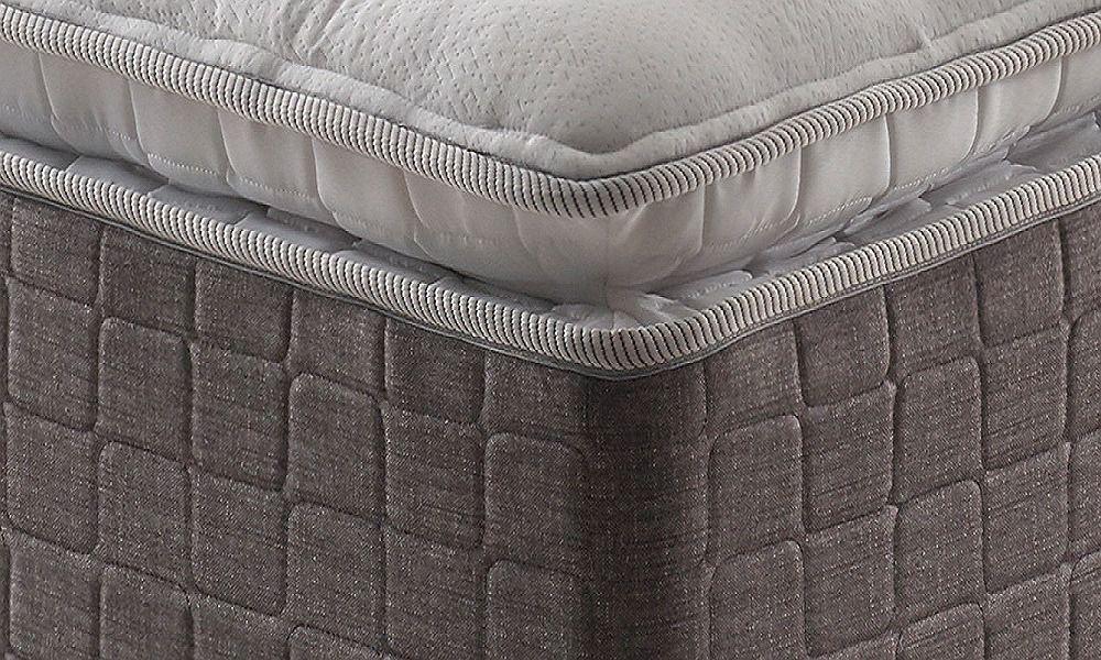 Cama Box Casal Confortable Quenn Size 1,58m Colchão Molas Ensacadas - Anjos