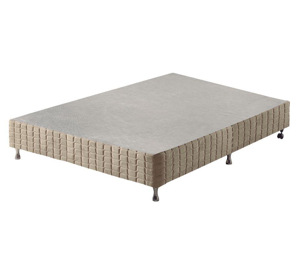 Cama Box Casal King Best 1,38cm Colchão  Molas Ensacadas - Anjos