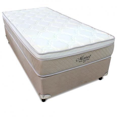 Conjunto box com Cama Auxiliar Monet - Solteiro padrão 88x188 cm Molas Ensacadas - Gazin