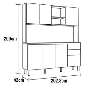 Cozinha Compacta Kit Kelly -  Luciane