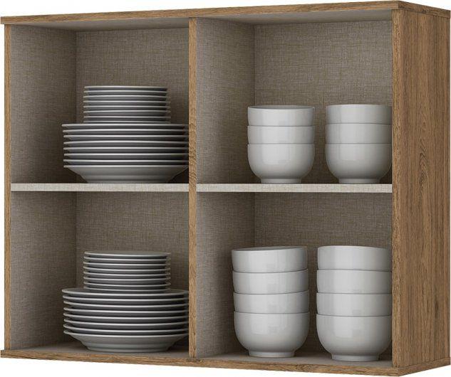 Cozinha Modulada Integra 1 - 5 Peças Portas de Vidro Rústico - Henn