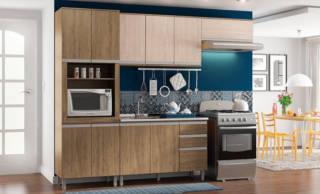 Cozinha Modulada Integra 6 - 4 Peças - Henn