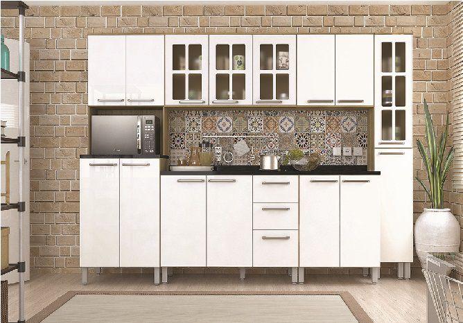 Cozinha Modulada Lara 3 - 6 Peças 15 Portas -  Luciane
