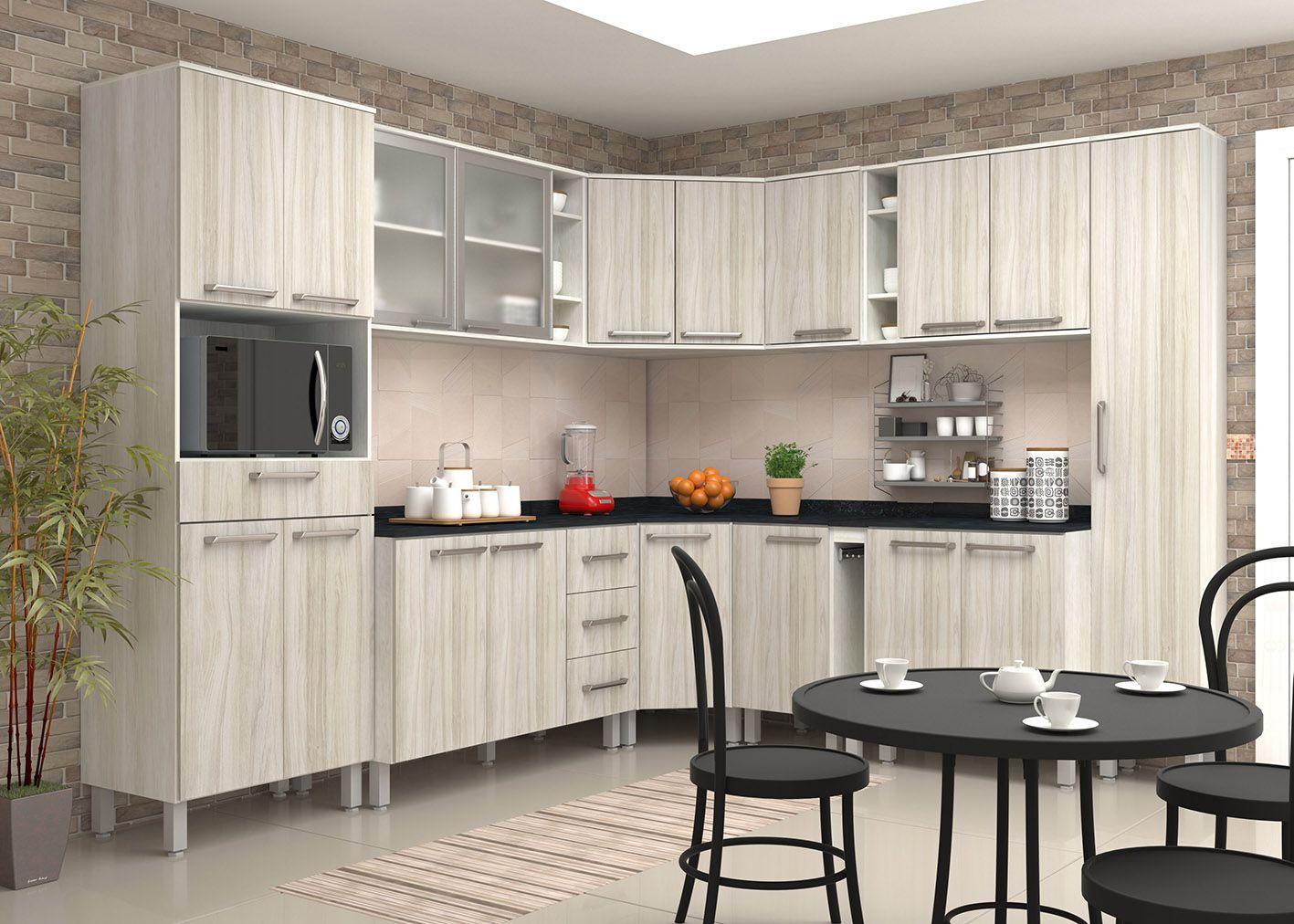 Cozinha Modulada Samia 1 - Luciane