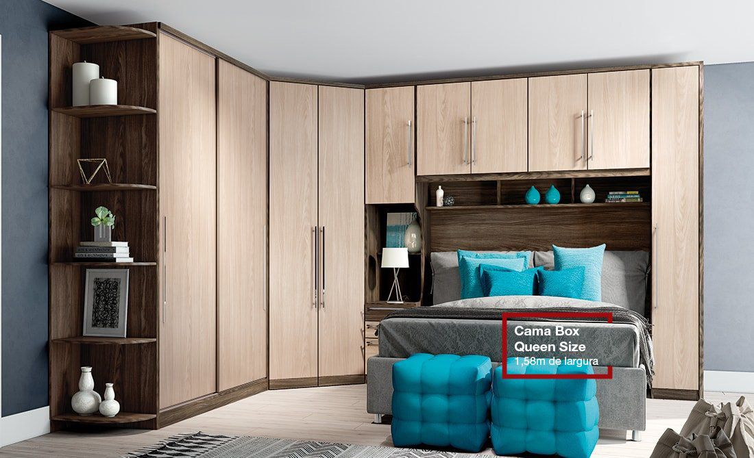 Dormitório Casal Diamante 1 - Henn