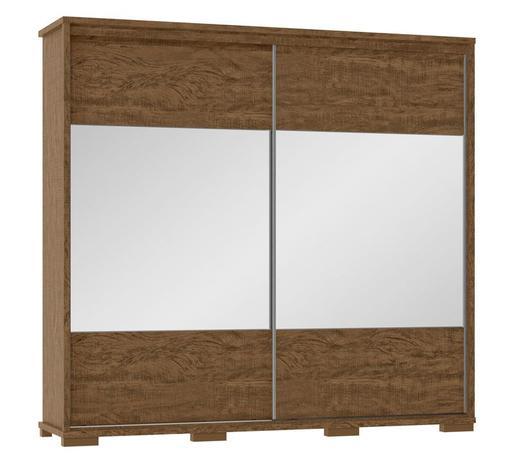 Guarda Roupa de Casal Cadenza C/Espelho 100%MDF - Fenix