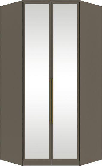 Guarda Roupa Modulado Closet Canto 2 Portas com Espelho  Diamante Henn