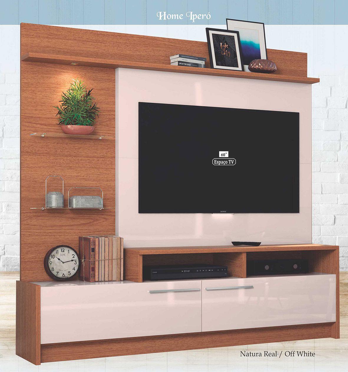 """Home Ipanema para Tv até 60"""" - Astra"""