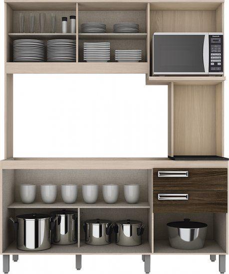 Kit Cozinha Compacta 1,60m - Henn