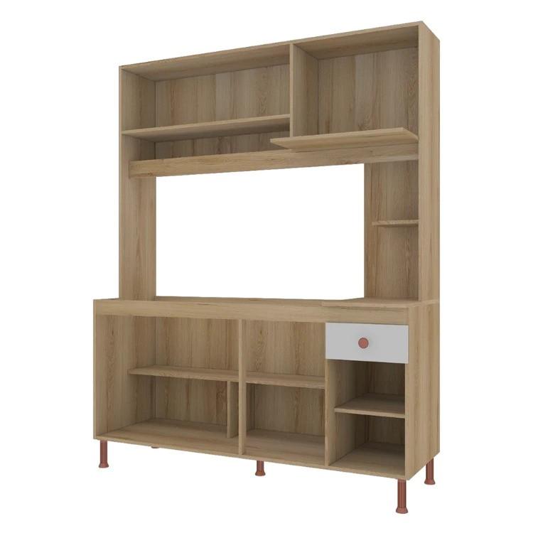 Kit Cozinha compacta 1,58m Barcelona - Indekes