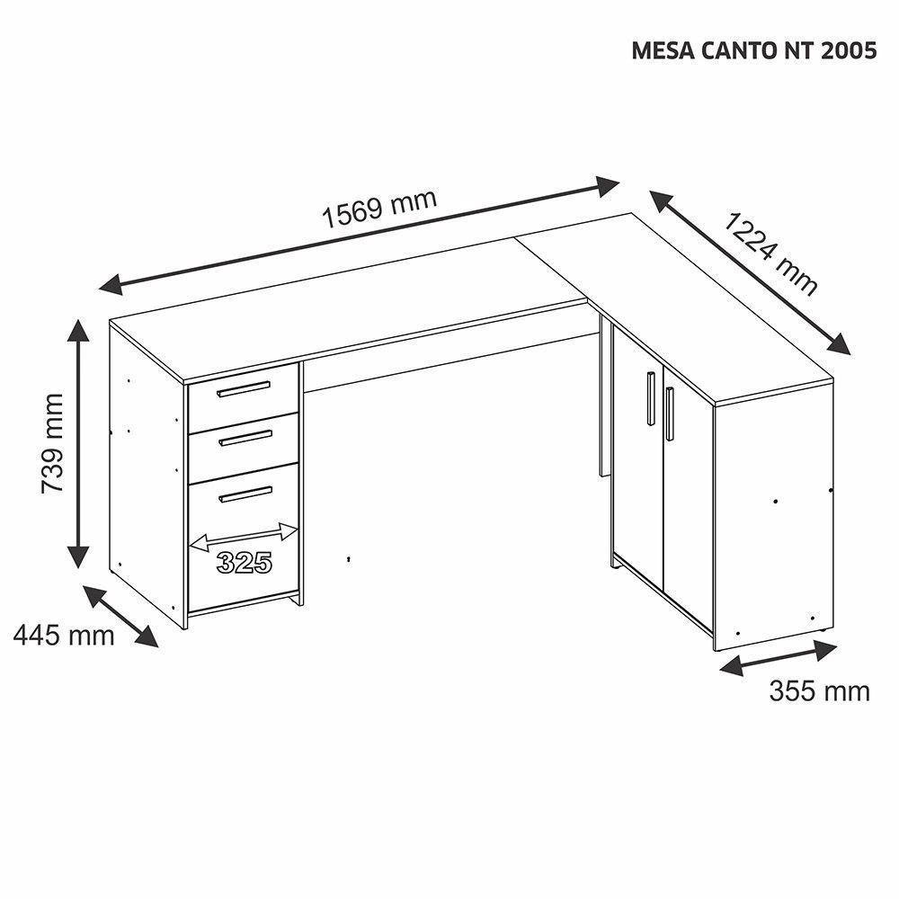 Mesa de Canto Notavel NT 2005 - Notavel
