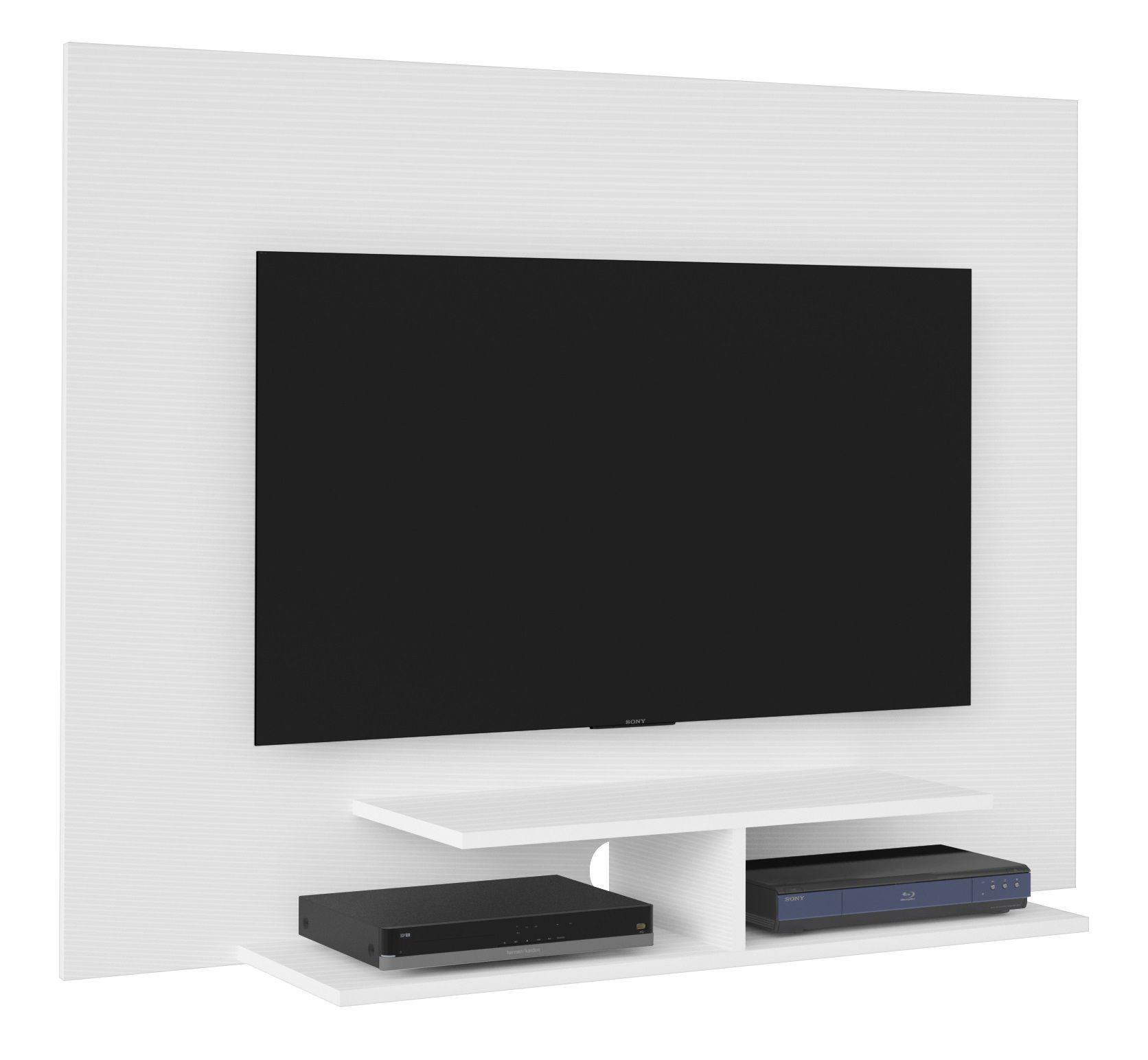 Painel Jet Plus  para TV até 42 polegadas 2 Prateleiras - Artely