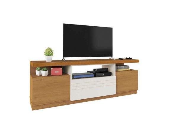 "Rack Munique  para Tv até 55"" com 3 Portas - Artely"